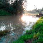Dragagem de rios