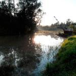 Desassoreamento de lagoas